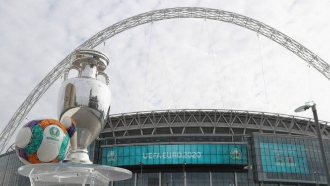 Tempat semifinal dan final EURO 2020, Wembley Stadium.