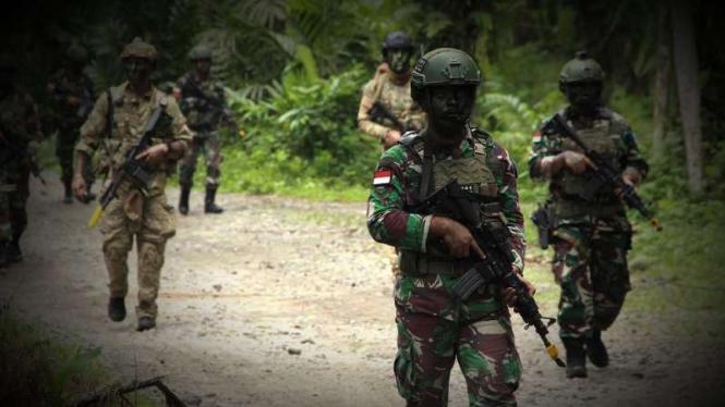 VIVA Militer: Prajurit Paskhas TNI dan pasukan elite Amerika US SOCPAC