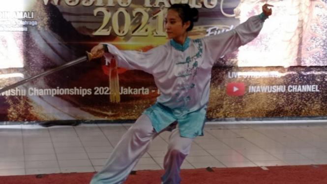 Atlet Wushu Jawa Timur, Putri Gracia