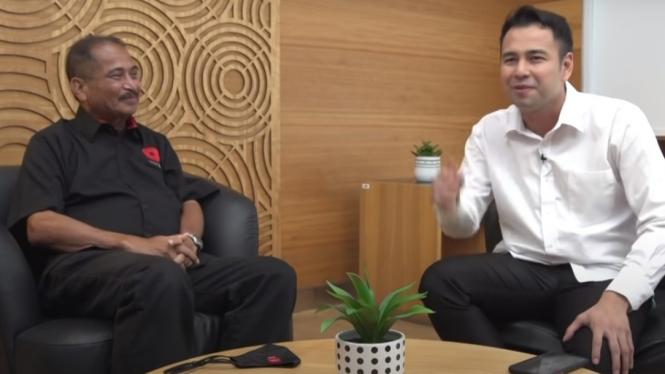 Raffi Ahmad dan Mantan Menteri Pariwisata, Arief Yahya