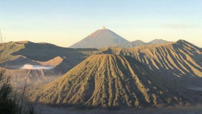 Kawasan Taman Nasional Bromo Tengger Semeru, di Jawa Timur.