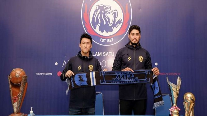 2 pemain baru Arema FC
