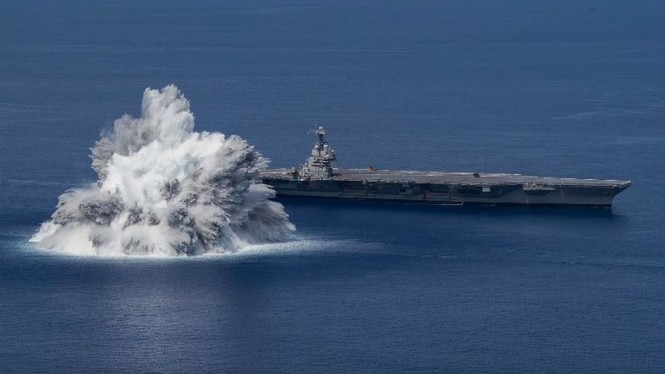 Uji coba ledakan oleh US Navy. BBC Indonesia