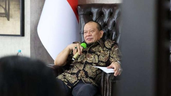 Ketua DPD RI LaNyalla Mataliti.