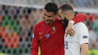 Cristiano Ronaldo dan Karim Benzema