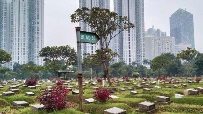 TPU Menteng Pulo di Jakarta Selatan.