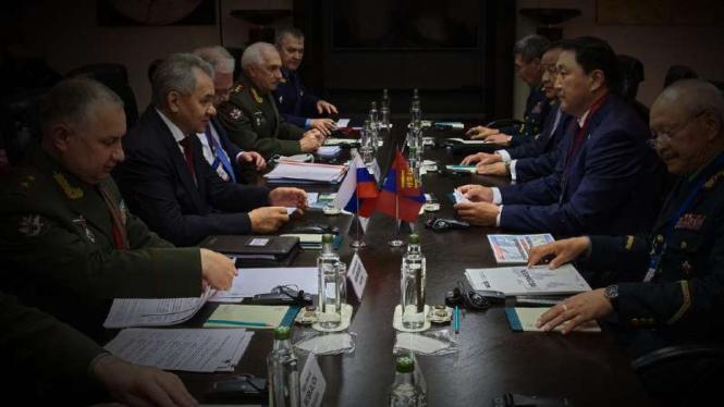 VIVA Militer: Pertemuan pejabat militer Rusia dengan peserta Konferensi Moskow