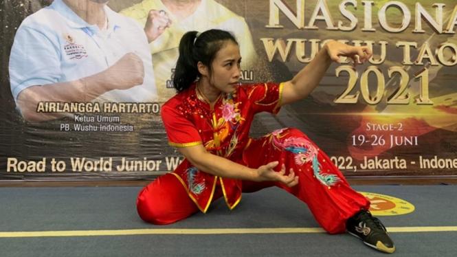 Atlet Wushu, Dessy Indri Astuti
