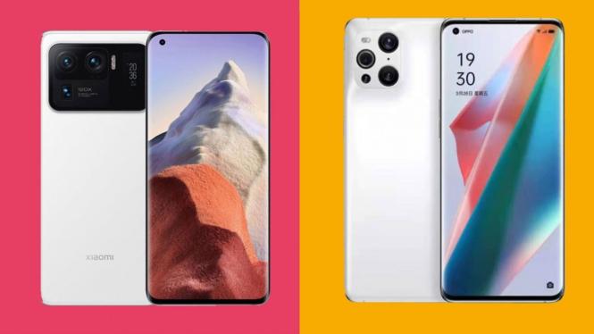 Xiaomi vs Oppo.