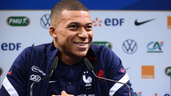 Striker Timnas Prancis, Kylian Mbappe