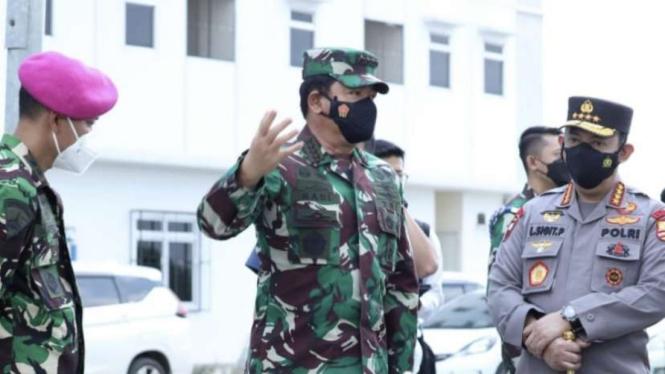 VIVA Militer: Panglima TNI kembali Sidak ke Rusun Nagrak Cilincing