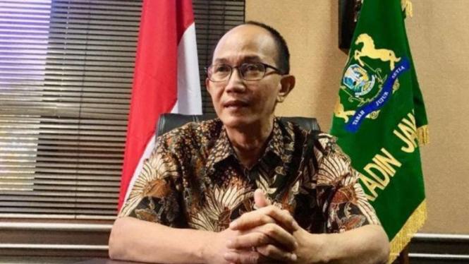 Ketua Kamar Dagang dan Industri (Kadin) Jawa Timur, Adik Dwi Putranto.