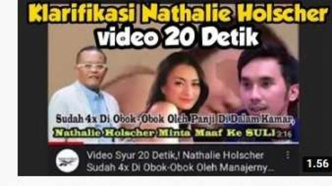 Video syur Nathalie