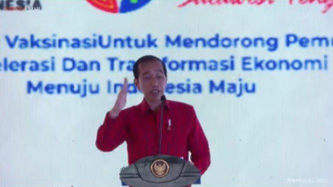Presiden Joko Widodo buka Munas Kadin Indonesia di Kendari.