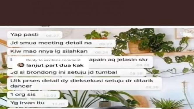 Viral video arisan sosialitas pakai tumbal di Pondok Indah