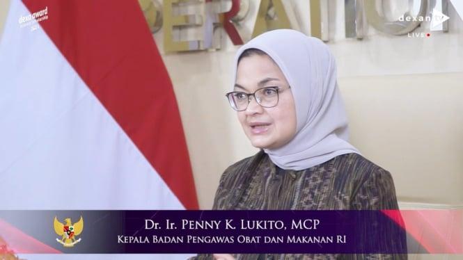 Kepala BPOM RI, Penny K Lukito