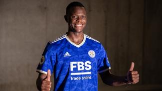 Patson Daka resmi jadi pemain Leicester City