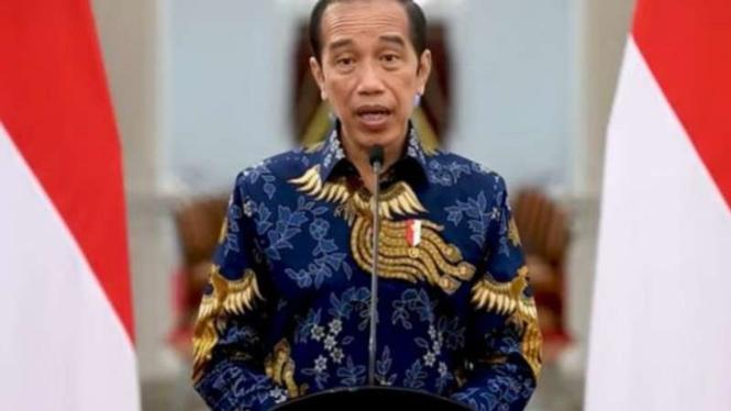 Presiden Jokowi umumkan PPKM Darurat
