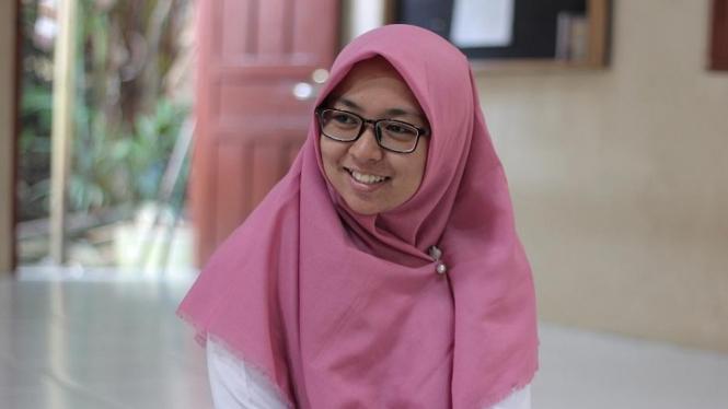 Nailul Fauziyah hafidzah Alquran asal Lampung