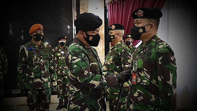 VIVA Militer: Panglima lantik Brigjen Wahyoedho Indradjit jadi Kababinkum TNI