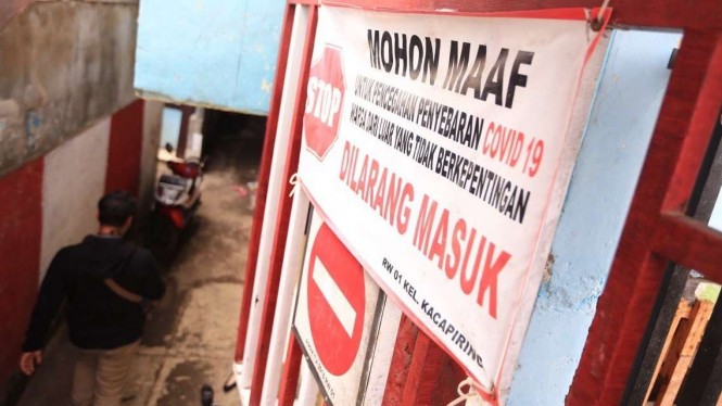 Warga memberikan rumahnya untuk tempat isolasi mandiri di Bandung.
