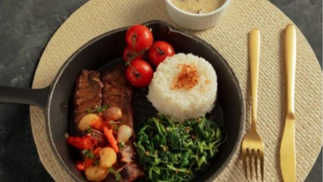Wagyu Steak Sambal Geprek