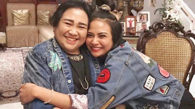 Vanessa Angel dan Rachmawati Soekarnoputri