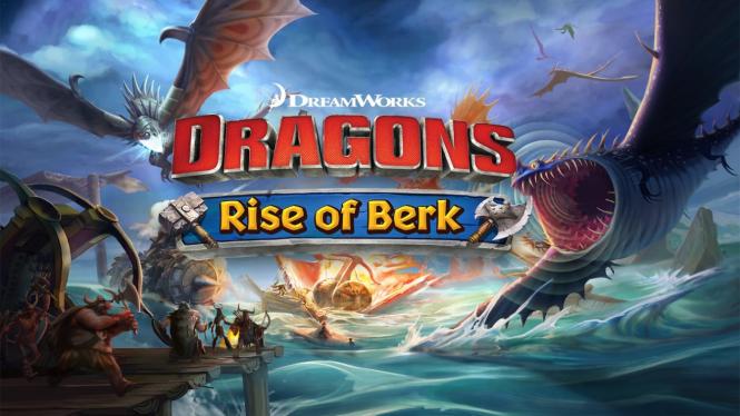 DreamWorks Dragons: Rise of Berk.
