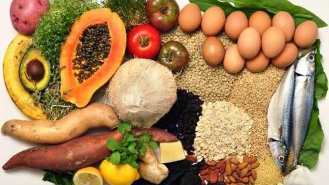 Makanan sehat lokal