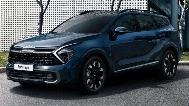 Mobil KIA Sportage edisi 2021.