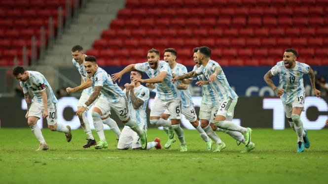 Lionel Messi dan Timnas Argentina