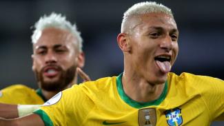 Penyerang Timnas Brasil, dan Everton, Richarlison
