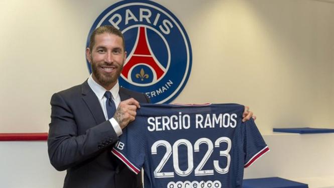 Sergio Ramos resmi jadi pemain PSG