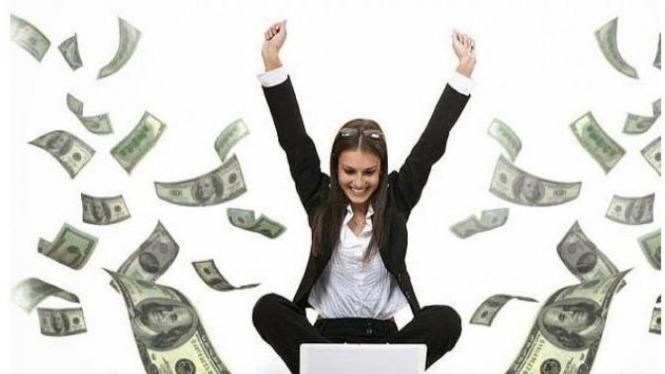 Ilustrasi uang mengecoh dunia