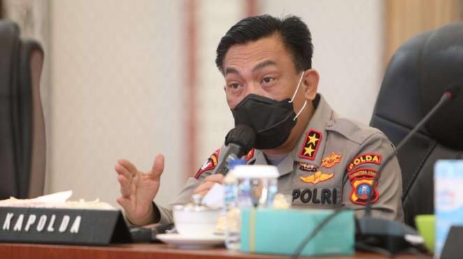 Kapolda Sumut, Irjen Pol. Panca Putra Simanjuntak.