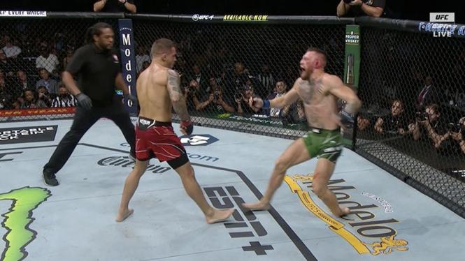 Partai UFC antara Conor Mcgregor vs Dustin Poirier