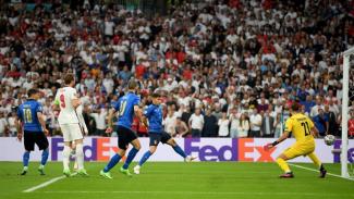 Pertandingan Timnas Inggris vs Italia di final EURO 2020