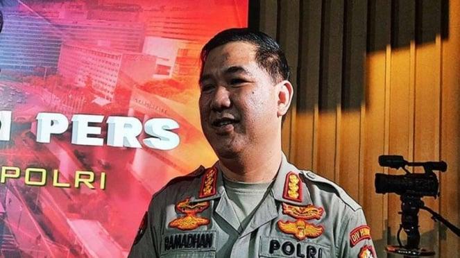Kabag Penum Divisi Humas Polri Kombes Ahmad Ramadhan