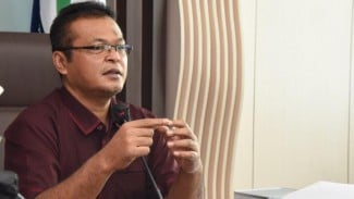 Kepala LAN, Dr Adi Suryanto, M.Si saat memberikan arahan pada Rapat Pimpinan LAN