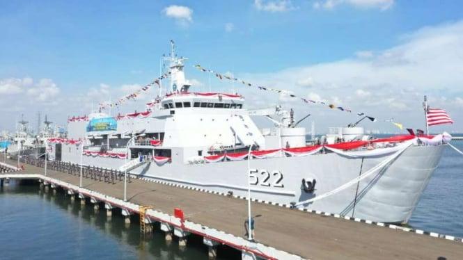 VIVA Militer: Kapal Perang KRI Teluk Youtefa 522 milik TNI Angkatan Laut
