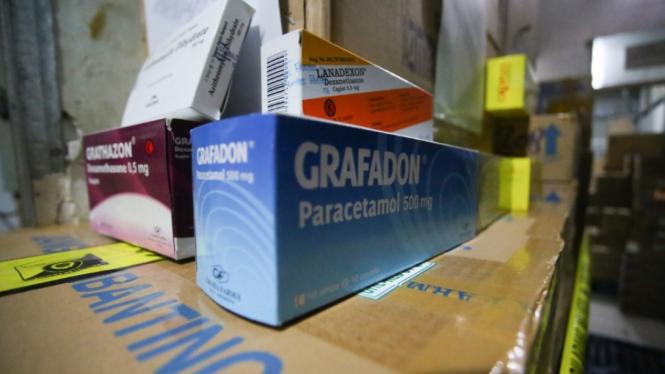 Penggrebekan Penimbunan Obat Covid dan Kesehatan