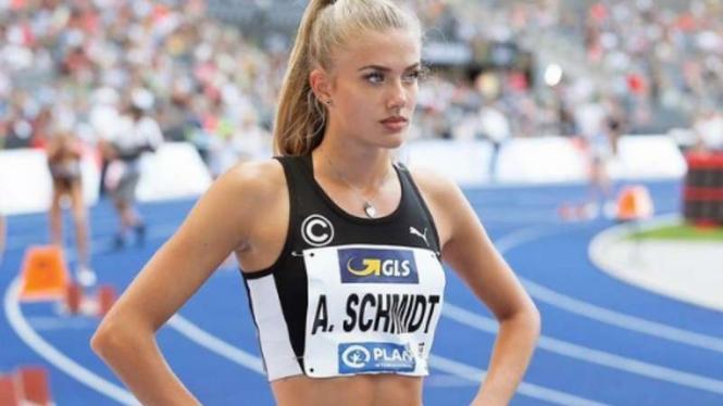 Atlet terseksi di dunia, Alica Schmidt.