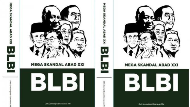 Ilustrasi buku mega skandal Abad XXI BLBI