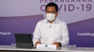 Juru Bicara Satgas Penanganan Covid-19 Prof. Wiku Adisasmito