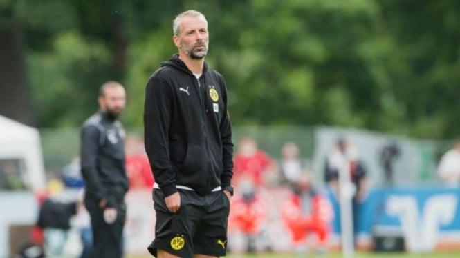 Pelatih Borussia Dortmund, Marco Rose.