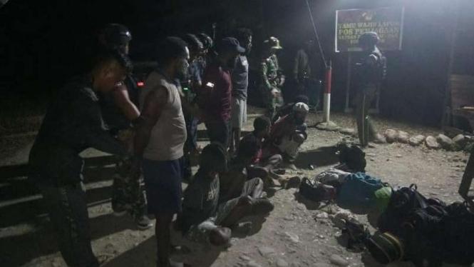 VIVA Militer: Prajurit TNI Yonif 131/BRS tangkap anggota OPM
