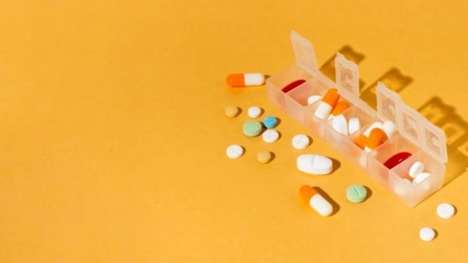 Ilustrasi obat/vitamin.