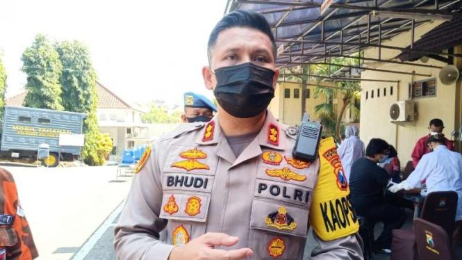 Kepala Polresta Malang Kota Ajun Komisaris Besar Polisi Budi Hermanto