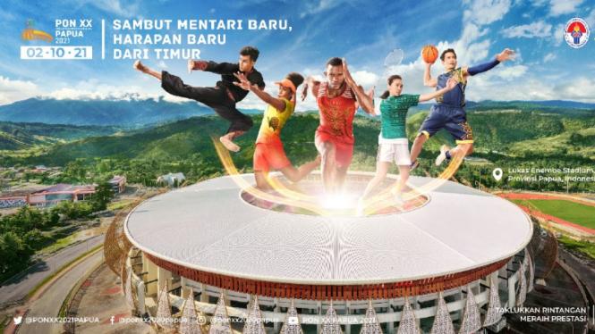 Poster PON Papua