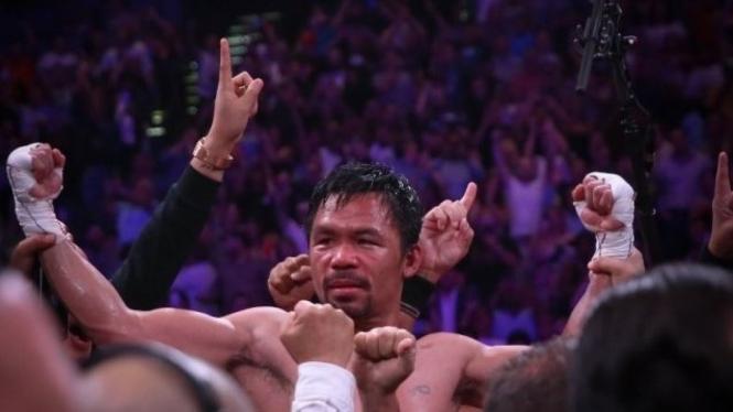 Raksasa tinju Filipina, Manny Pacquiao